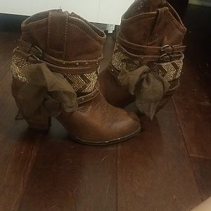 💜Fashion Cowgirl Booties